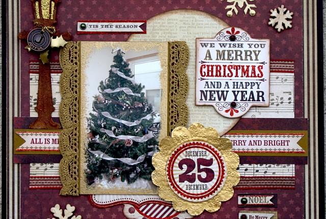 November Sketchy Kelly Klapstein - Merry Christmas