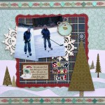 Snow Much Fun Dec Sketchy Challenge 2011 Kelly Klapstein
