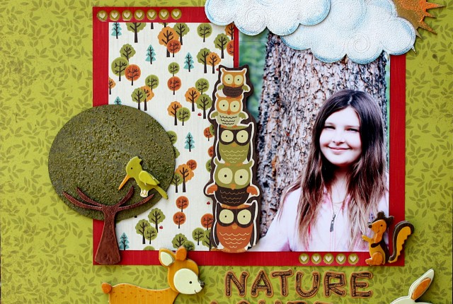 May 2012 Sketchy Challenge by Kelly Klapstein 'Nature Lover'