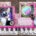Winter 2012 Double Sketch Page Call Sample by Kelly Klapstein CAKE BOSS