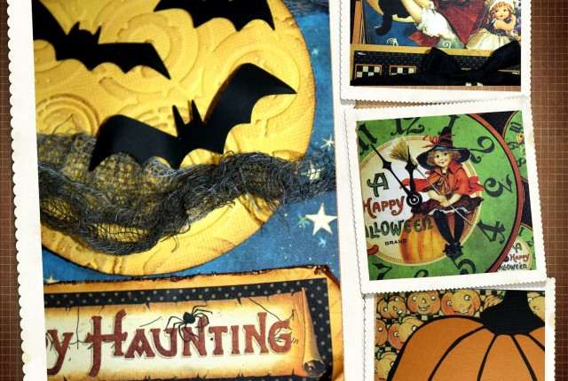 Happy Haunting Halloween mini album by Kelly Klapstein 2012