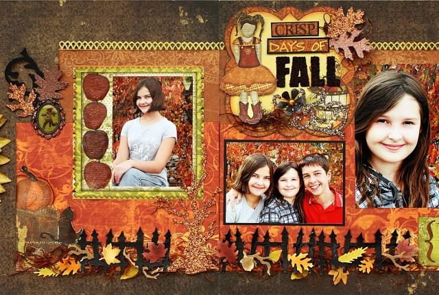 Crisp Days of Fall Bo Bunny Sept 2012