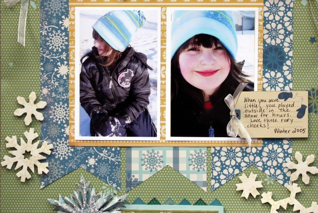 let it snow layout sketchy dec 2012