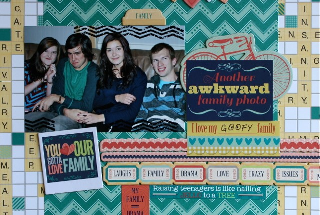 blog family is layout