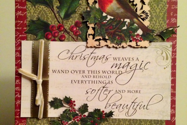 Kaisercraft Christmas Cards