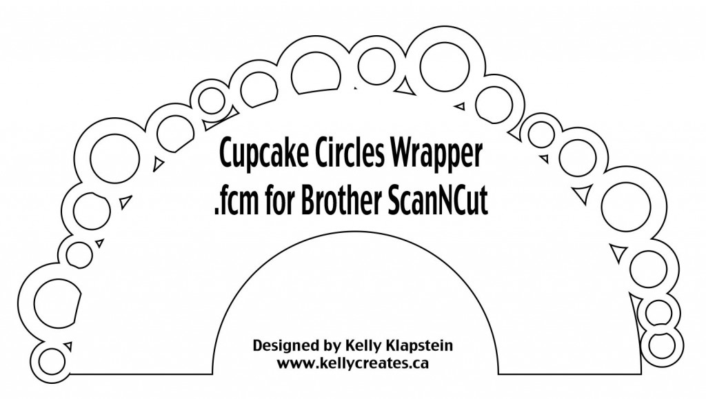 Cupcake Wrapper Circles