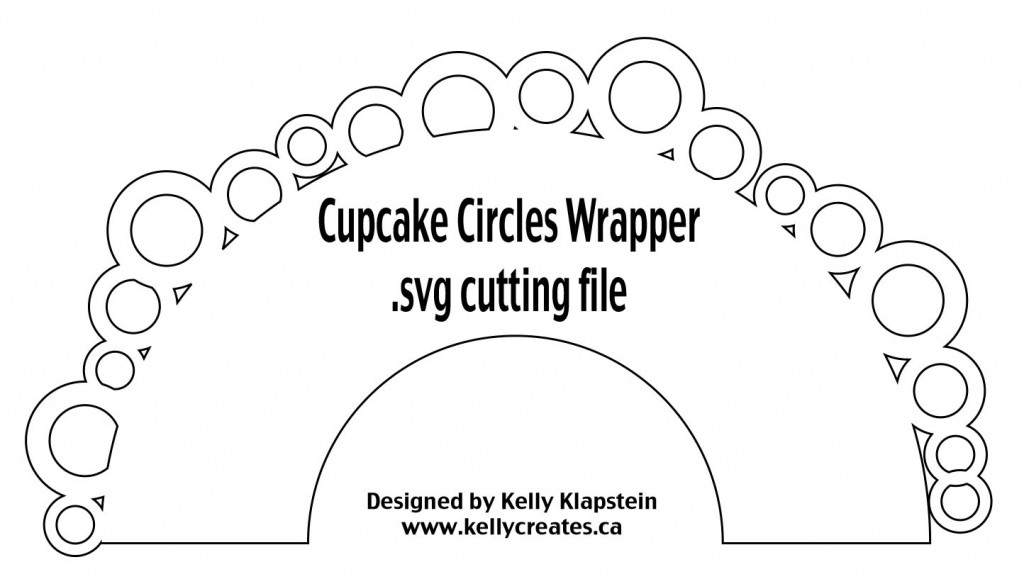 Cupcake Wrapper Circles svg