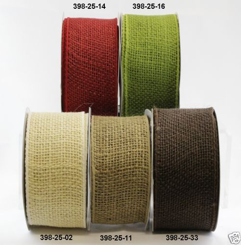 may arts burlap ribbon