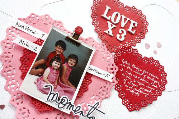 @kellycreates @bazzillbasics #valentine #hearts #wermemorykeepers