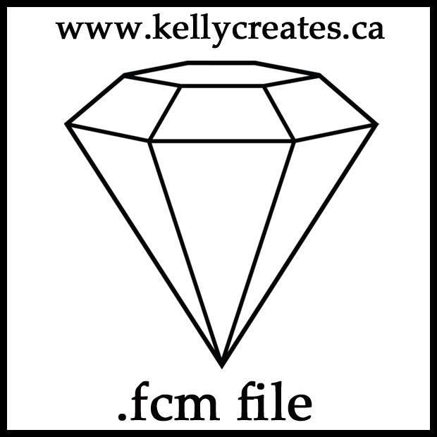 Diamond .fcm kellyklapstein