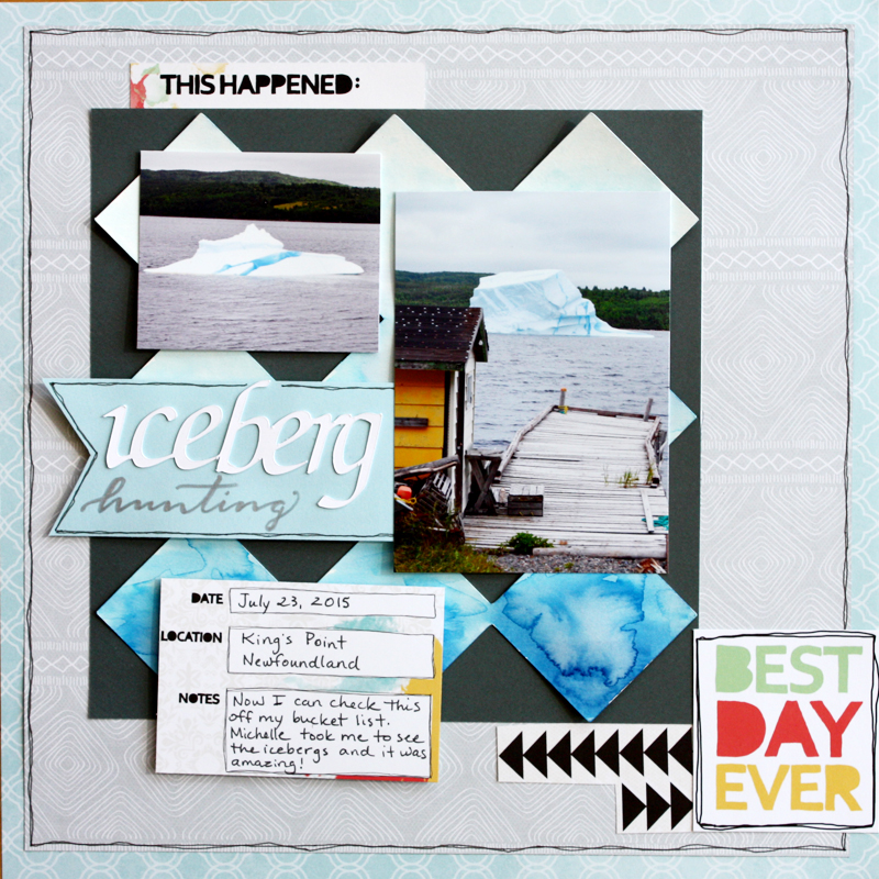 @kellycreates @cdnscrapbooker #sketch #scrapbooking #layout #creativememories