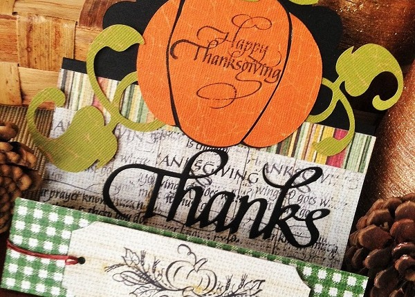 @kellycreates @quietfiredesign #fabscraps #coredinations #thanksgiving #card