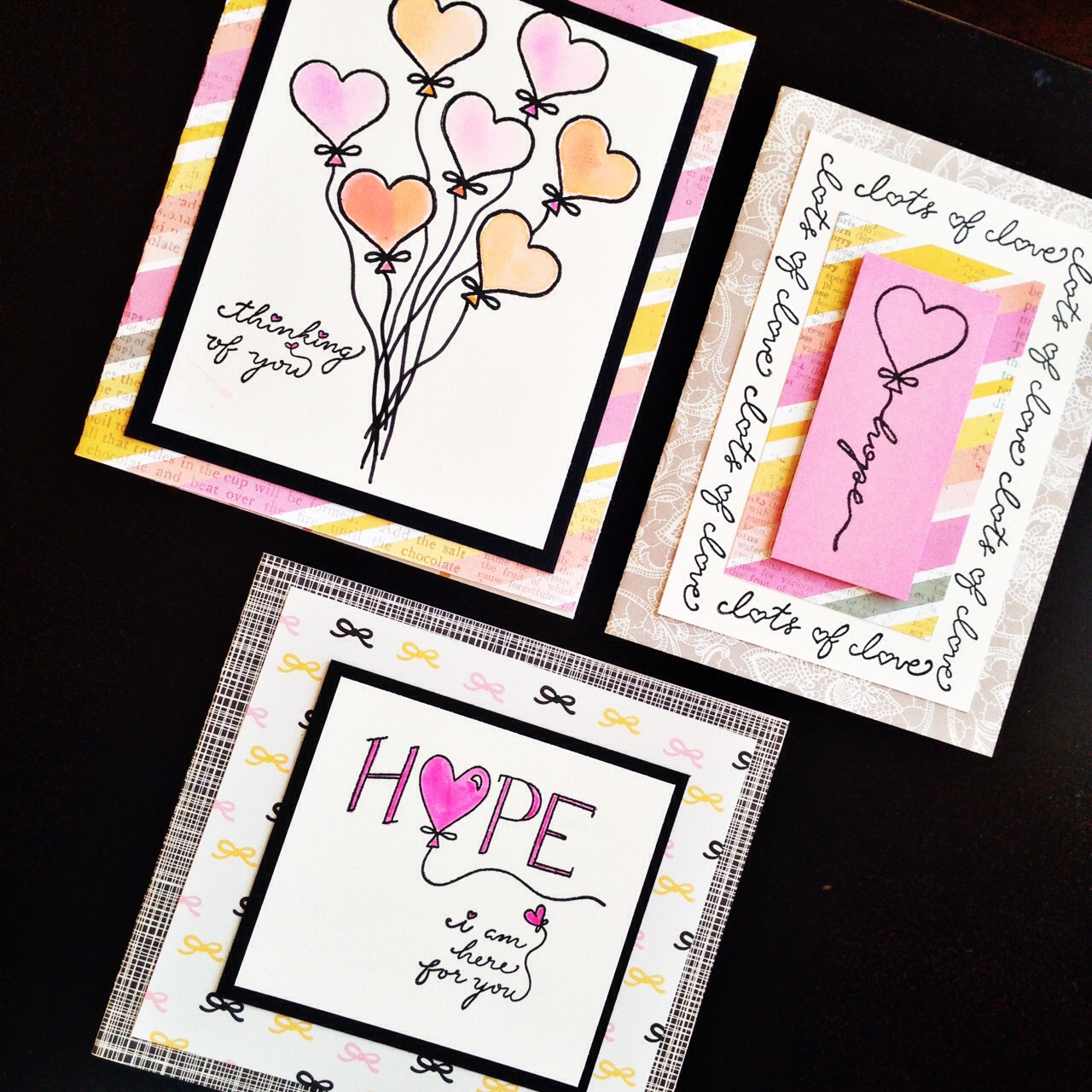 @kellycreates #ajillianvancedesign #stamps #stamping #hope #kellyshope #watercolour #card