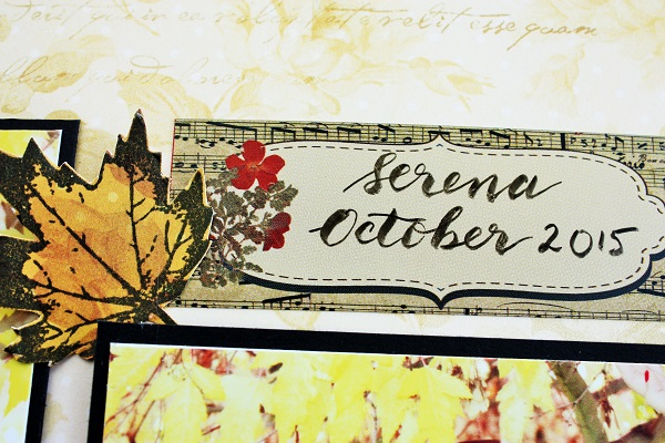 @kellycreates @csmscrapbooker #bobunny #fall #layout #double #scrapbooking