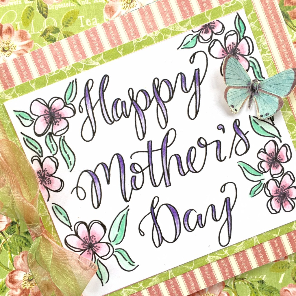 @kellycreates @tombowusa @mayartsribbon @G45papers #mothersday #mother #card #coloring #Irojiten #adultcoloring #free #dowloand #printable