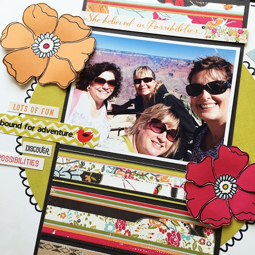 @kellycreates @tombowusa @fancypantsdesigns #scrapbooking #TombowPro #travel #layout