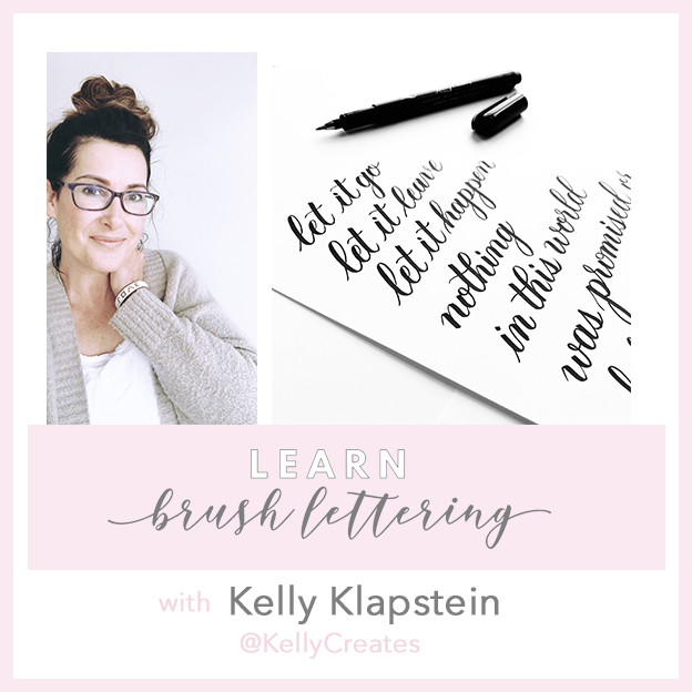 kelly creates kelly klapstein workshop calligraphy hand lettering