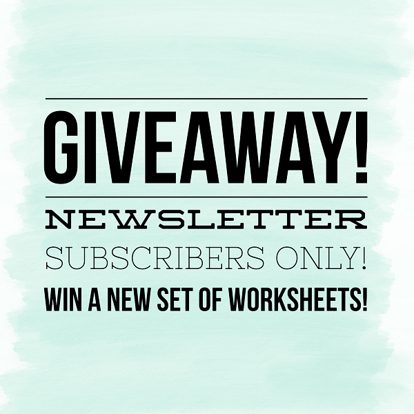 @kellycreates #giveaway #brushlettering #calligraphy #worksheets #learn