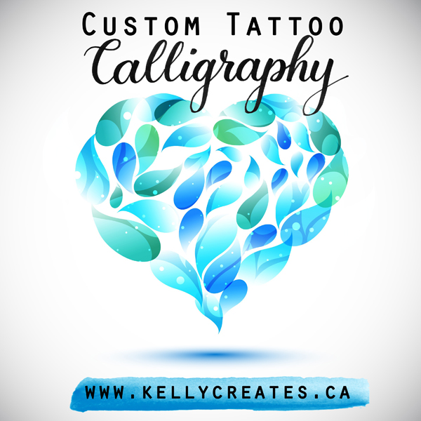 @kellycreates #kellyletters #tattoo #calligraphy #wordart #writing #custom #handlettering #moderncalligraphy #brushlettering #lettering
