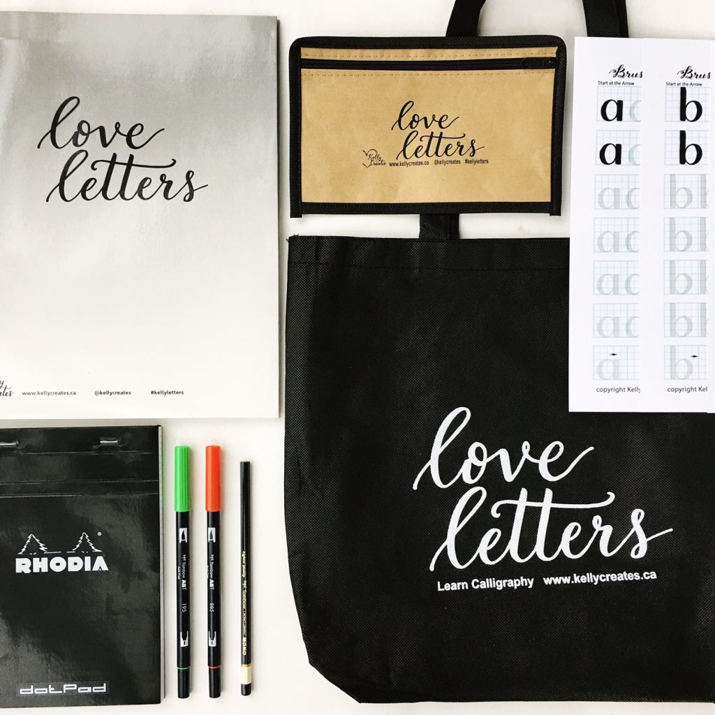 @kellycreates #kellyletters #calligraphy #brushlettering #kit #beginner #learn #guide #worksheets #guide #templates #tracing #sale