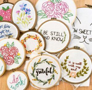 @gulushthreads #embroidery #modern #handmade #diy