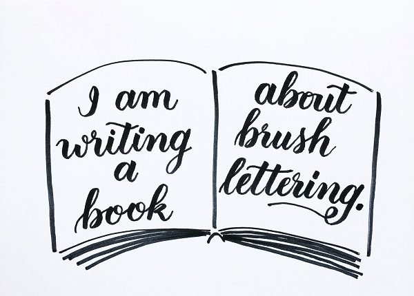 @kellycreates #book #learn #writing #brushlettering #lettering #calligraphy