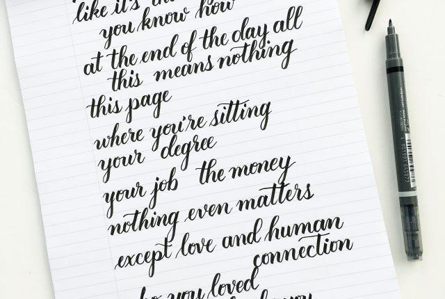 brush lettering worksheets kelly creates. @kellycreates @rupikaur_ @tombowusa #milkandhoney #poetry #calligraphy # brushlettering tombow fudenosuke brush lettering worksheets kelly creates b