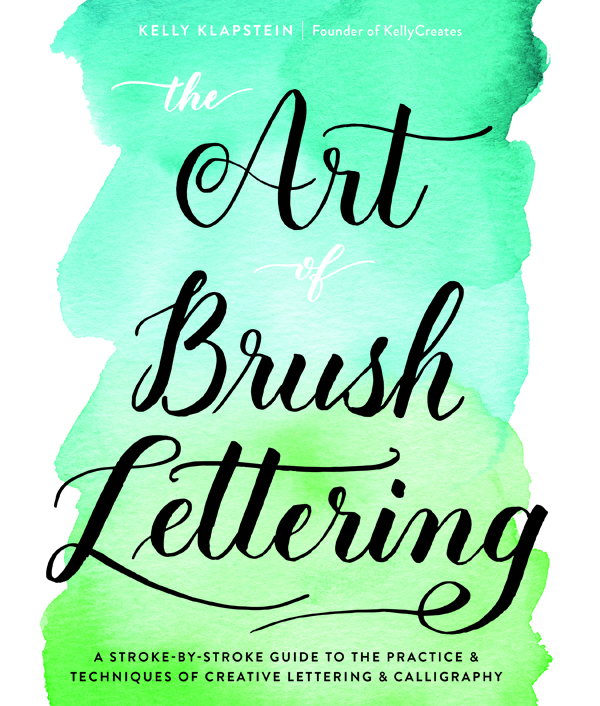 This book has everything you will ever need  to learn brush lettering and creative calligraphy. Insta famous Kelly Creates has poured all of her lettering knowledge into these pages. Detailed letter breakdowns, secrets of success and drills and alpha worksheets too!