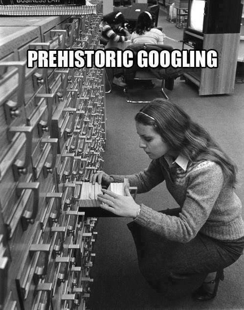 library googleing