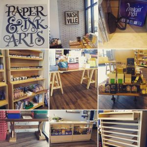 paper and ink arts store nashville tennessee USA