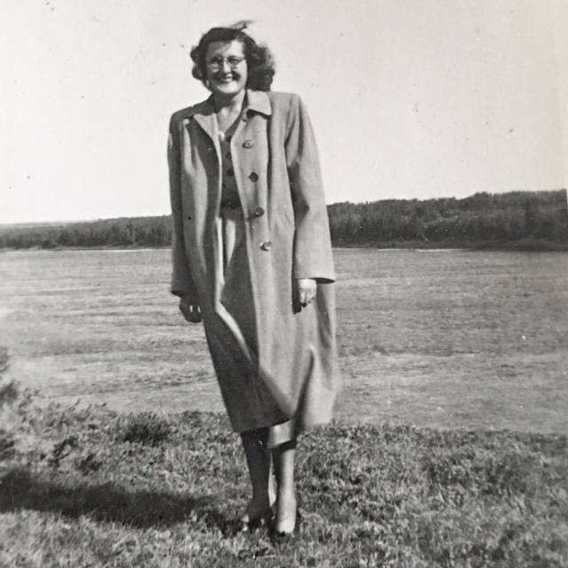 Sophie Pawluk Two Hills Alberta 1947