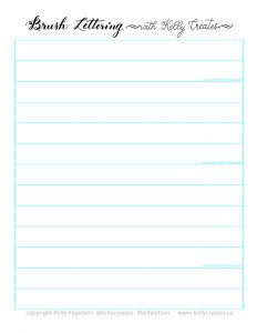 photograph about Red and Blue Lined Handwriting Paper Printable referred to as Totally free For Yourself Kelly Generates