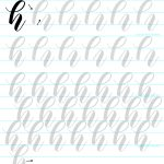 FREE Bouncy brush lettering worksheet! Love it! download and print and start practicing! www.kellycreates.ca