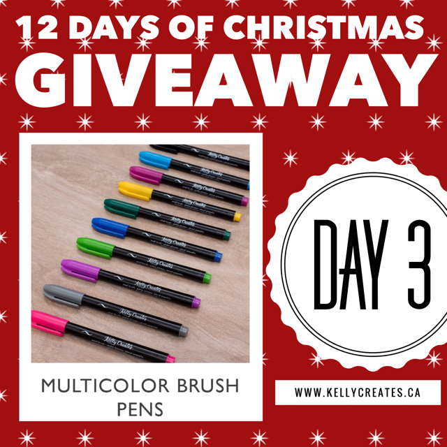 12 days of xmas giveaway 2017 Kelly creates