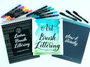Seasons Givings, blog hop, prize, giveaway, pens, book, The Art of Brush Lettering, Learn Calligraphy with the new Kelly Creates pens from American Crafts