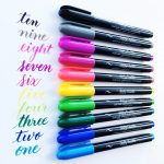 Love these Kelly Creates Multicolor Small Brush Pens from American Crafts available at Michaels stores