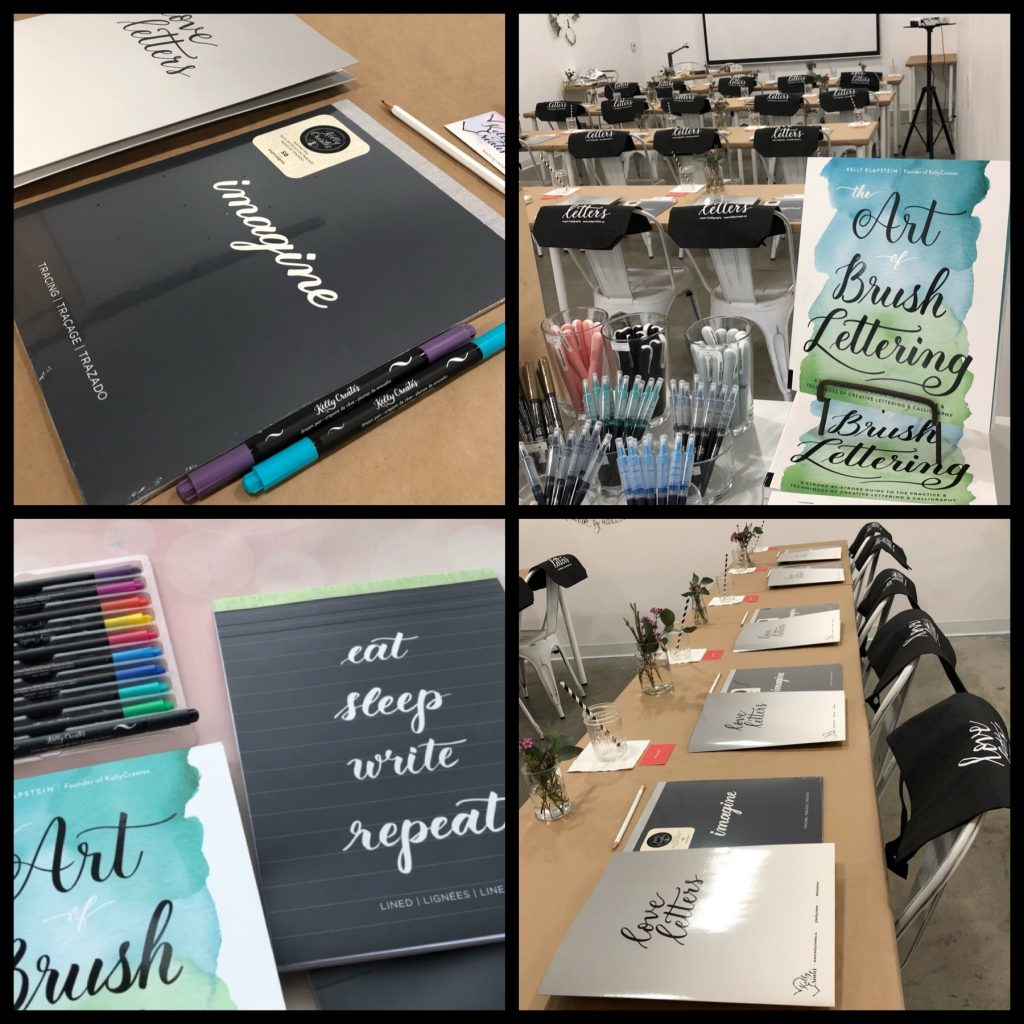 Kelly Creates Learn Brush Lettering Calligraphy workshops, New York, Montreal, Canada, North Carolina, Chicago,
