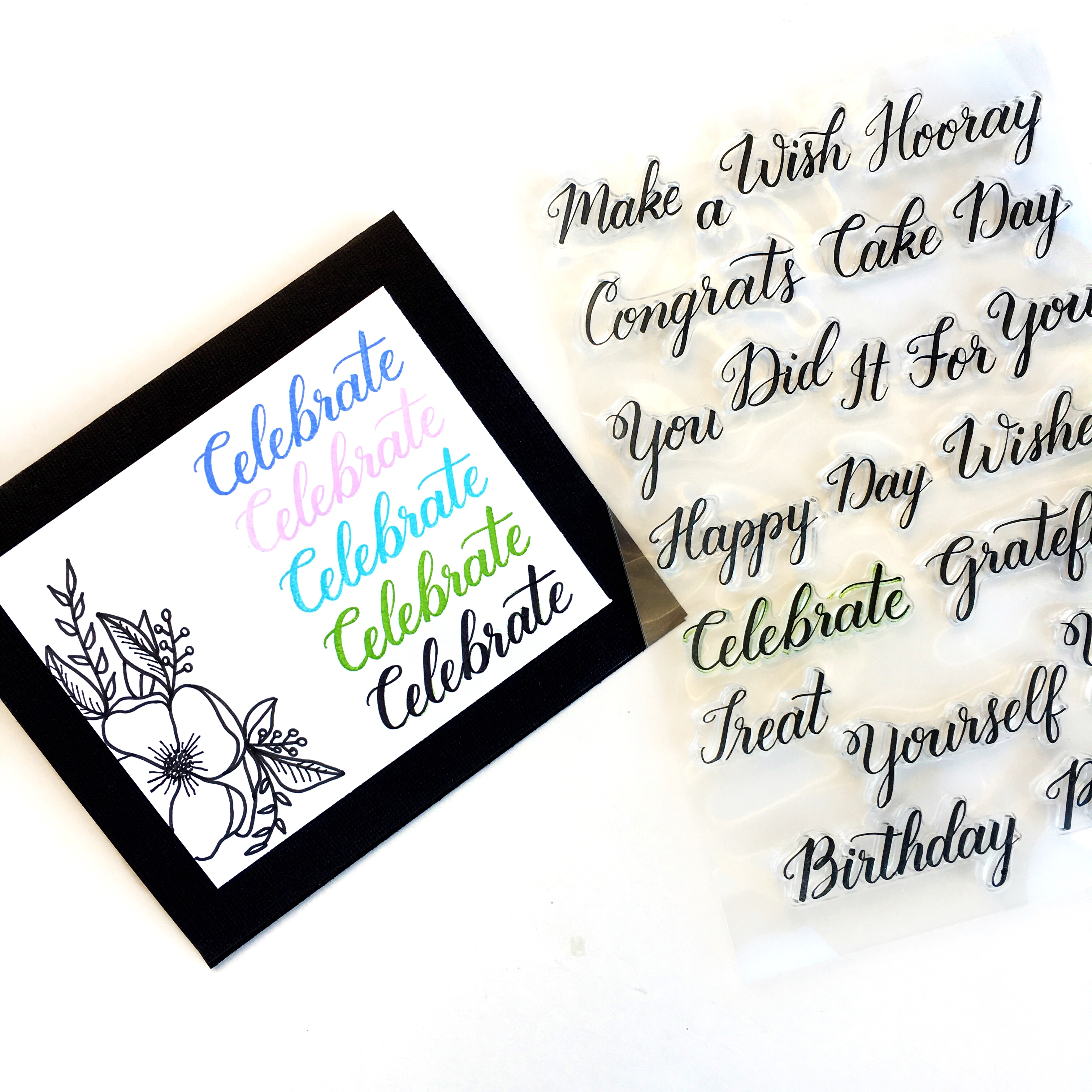 Learn Calligraphy With Stamps Kelly Creates