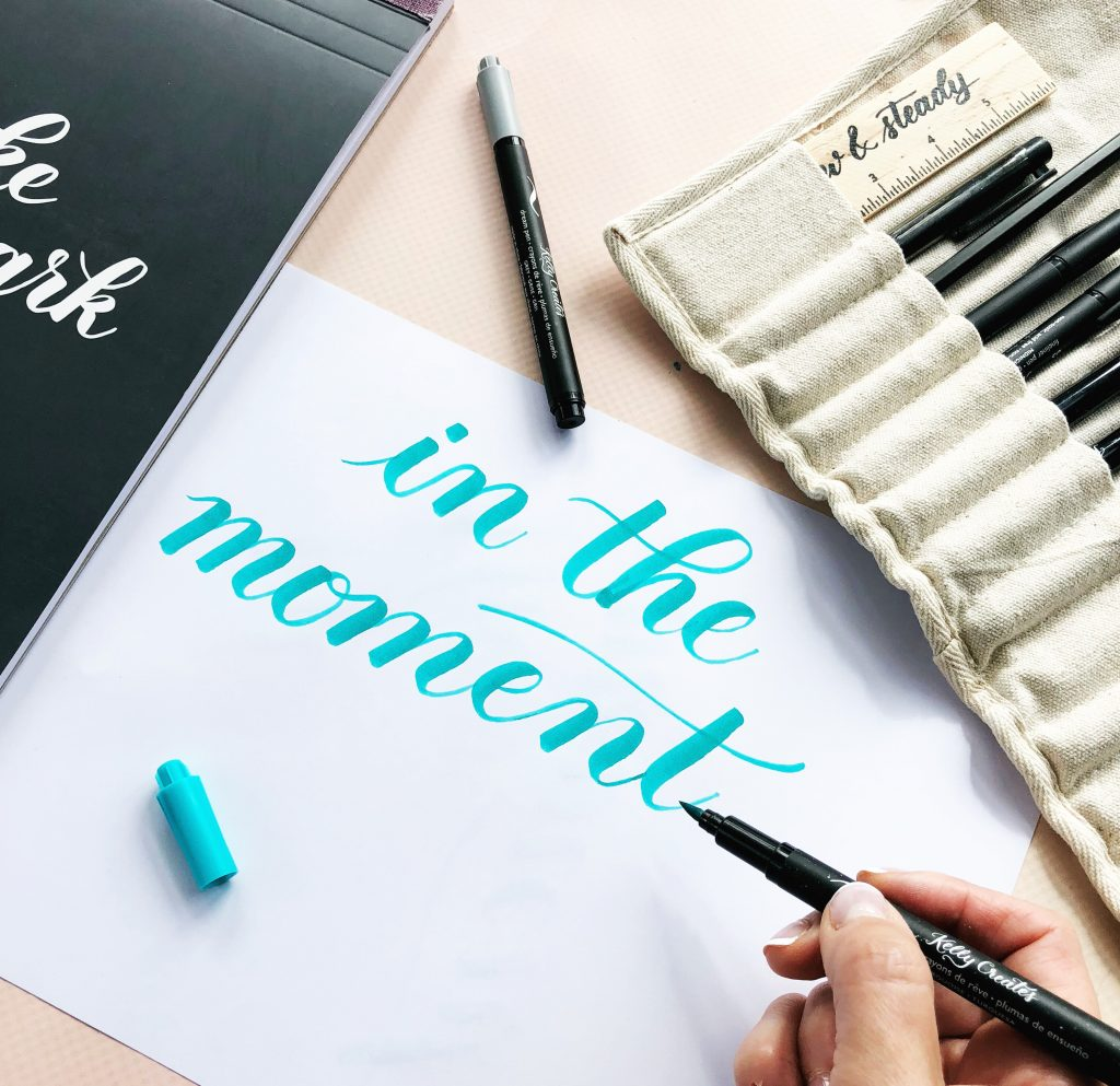 Put down the iPad and pick up a pen and piece of paper to learn calligraphy and hand lettering