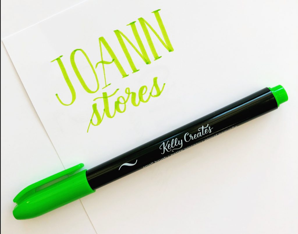 Shop all Kelly Creates hand lettering products at JoAnn stores www.kellycreates.ca
