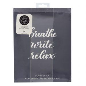 black paper pad Kelly Creates