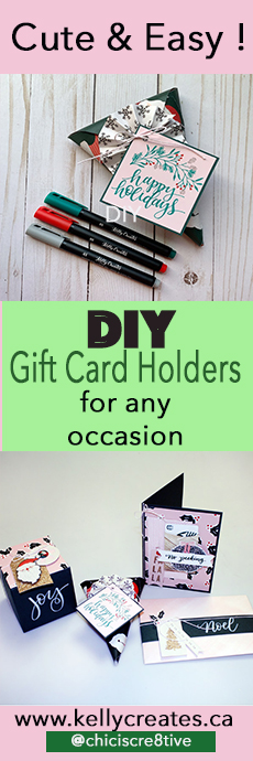 Awesome tutorial for making packaging for gift cards extra special, cute and fun!