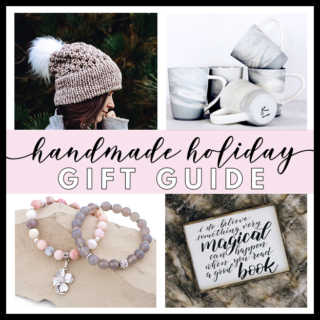 handmade holiday gift guide 2018 kelly creates