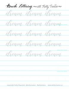 kelly creates free worksheet download print practice
