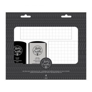 Kelly Creates Ink pads and Stamp set with stamping blocks