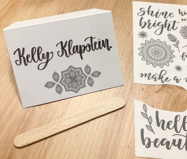 Easy DIY table placecards for special events, dinners, weddings and more www.kellycreates.ca