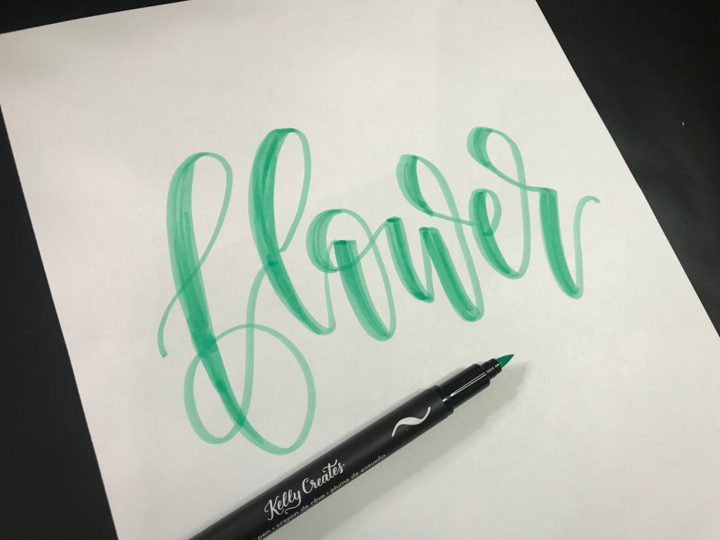 A cool tutorial to learn the technique of adding patterns and dimension to lettering