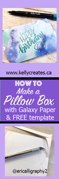 Love this easy tutorial and free template printable to download for gift card pillow box kellycreates.ca