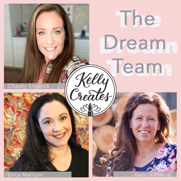 Kelly Creates Design Team Dream Team 2019