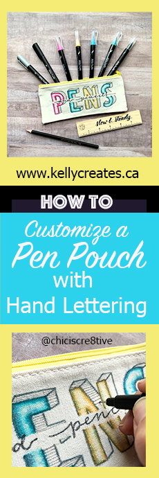 pen pouch customize chasity kelly creates